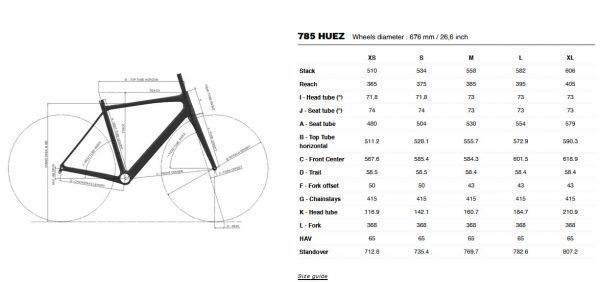 Cestno kolo 785 Huez Disc 2021