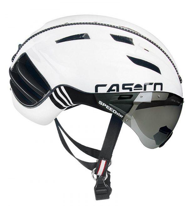 Kolesarska čelada Casco Speedster Plus white
