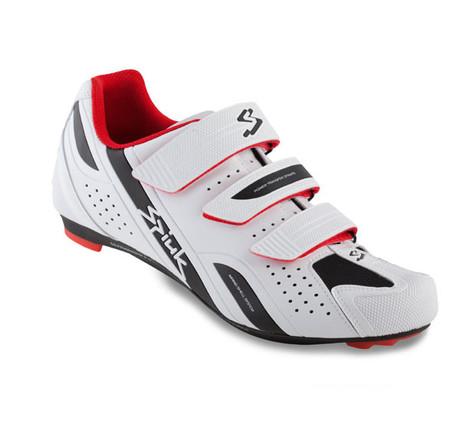 Kolesarski čevlji Spiuk Rodda beli