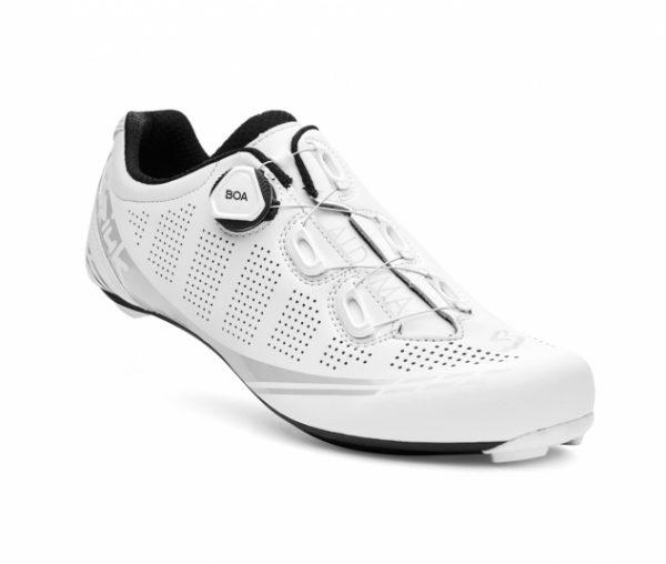 Kolesarski čevlji Spiuk Aldama Road Carbon bele